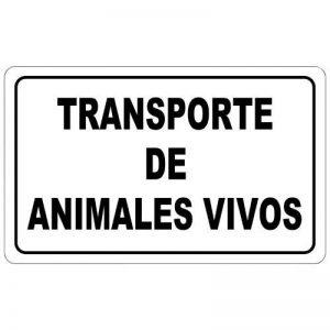 TRANSPORTE ANIMALES VIVOS